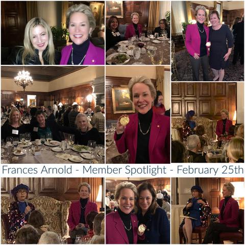 Frances Arnold Event