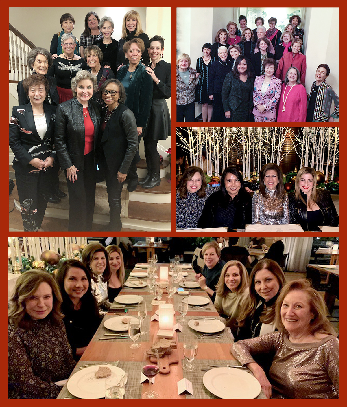 2019 holiday party-collage