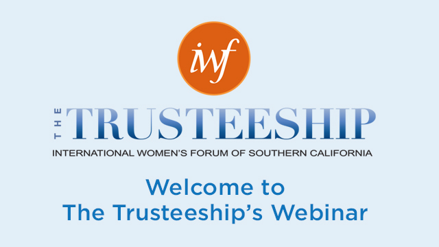 The Trusteeship Webinar recordings